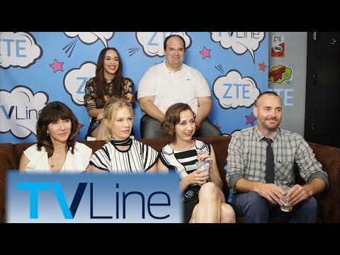 The Last Man on Earth Interview   TVLine Studio Presented by ZTE   Comic-Con 2016