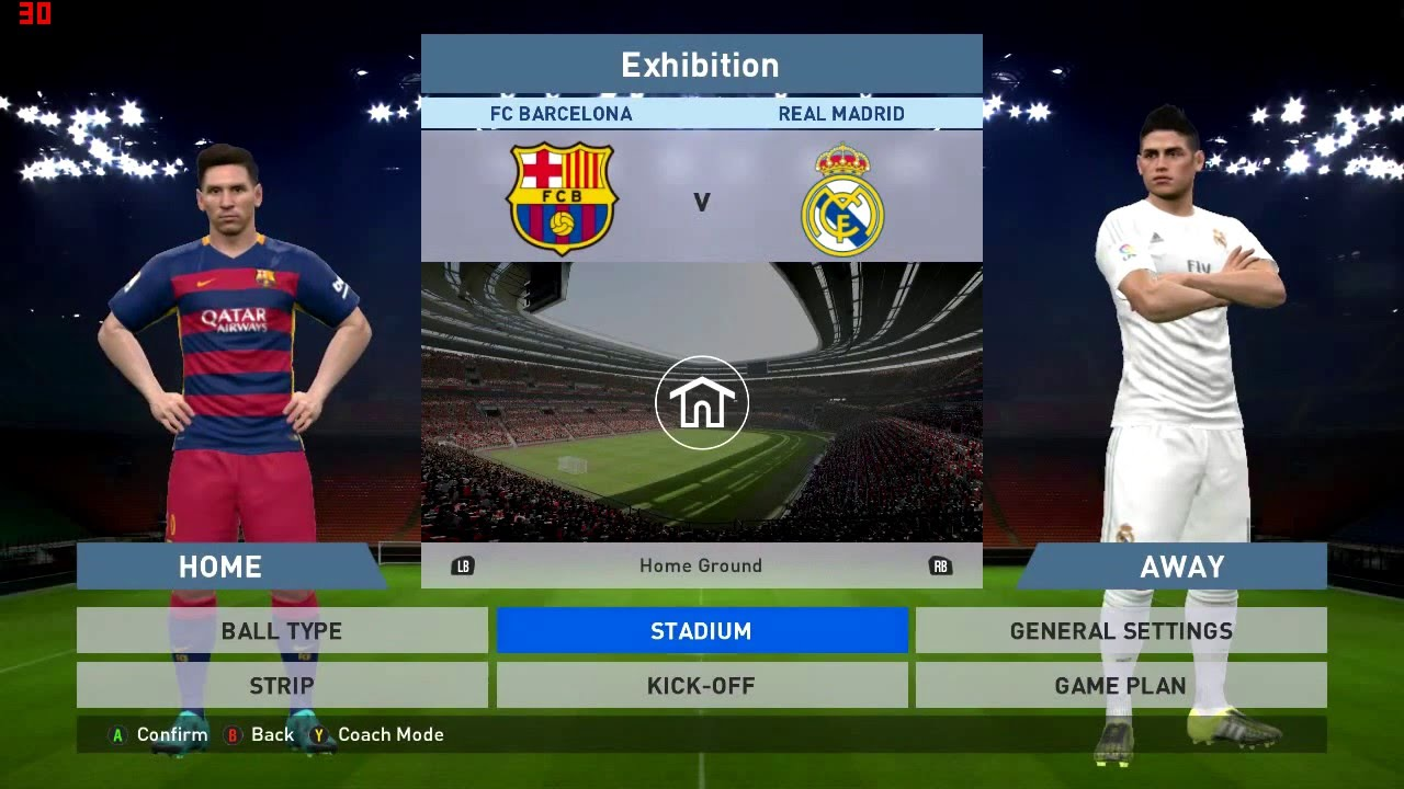 Pro Evolution Soccer 2016 - Intel HD 4400