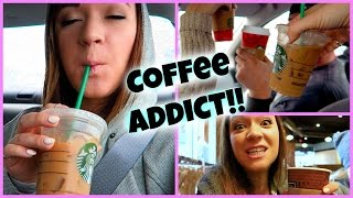 COFFEE ADDICT!!! Vlogmas Day 2! Thumbnail