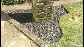 Lawn Edging, Turf Design, Flower Beds, Garden Borders, And Lawn Design With Perfect Edge