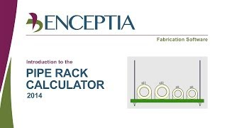 Enceptia Pipe Rack Calculator Demo