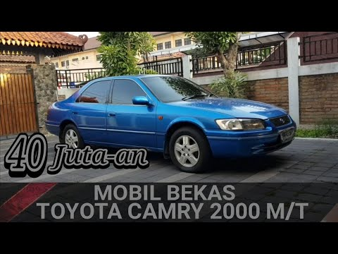Review Mobil Bekas Toyota Camry Thn 2000 Manual Youtube