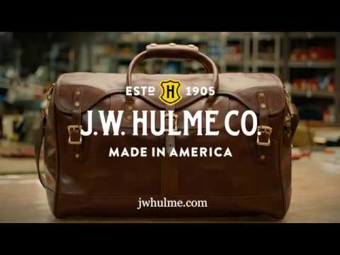 Handcrafted for a lifetime: The Original Duffle
