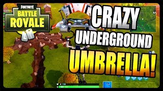 Fortnite Battle Royale: Secret Underground Umbrella! *MULTIPLE CHESTS*