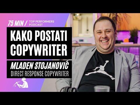 Kako postati Copywriter - Mladen Stojanović, Direct Response Copywriter - Top Performers podcast E06