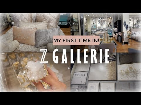 SHOP WITH ME | Z GALLERIE WALK-THRU | MY FIRST TIME 2018 GRAND OPENING