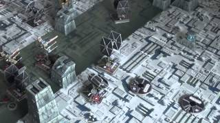 11th Legion Presents: Death Star Trench Run Battle Report for X-Wing Miniatures Game