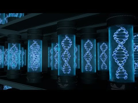 DNA could store all of the world's data in one room.