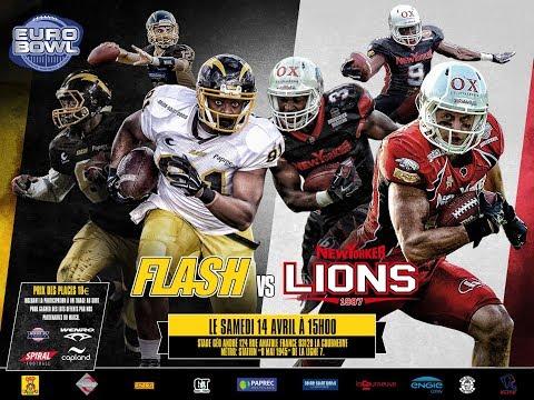 EUROBOWL XXXII - Flash (Fra) vs Lions (All) - Part I