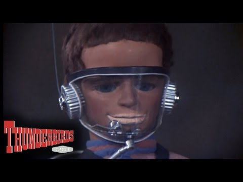 Brains Encounters An Unexpected Intruder In The Underwater Temple - Thunderbirds