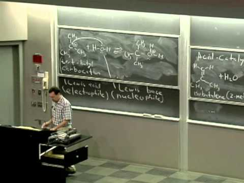 Organic Chemistry 51A. Lecture 07. Lewis Acids, Lewis Bases, and Organic Reaction Mechanisms.