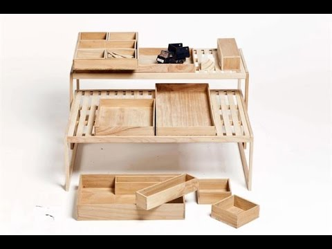 6 muebles de madera prcticos y originales  YouTube