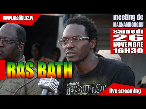 Extrait  de l'intervention  de Ras Bath au meeting  Magnambo