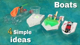 4 Amazing ideas for Fun or Simple Ways to Make a Boats