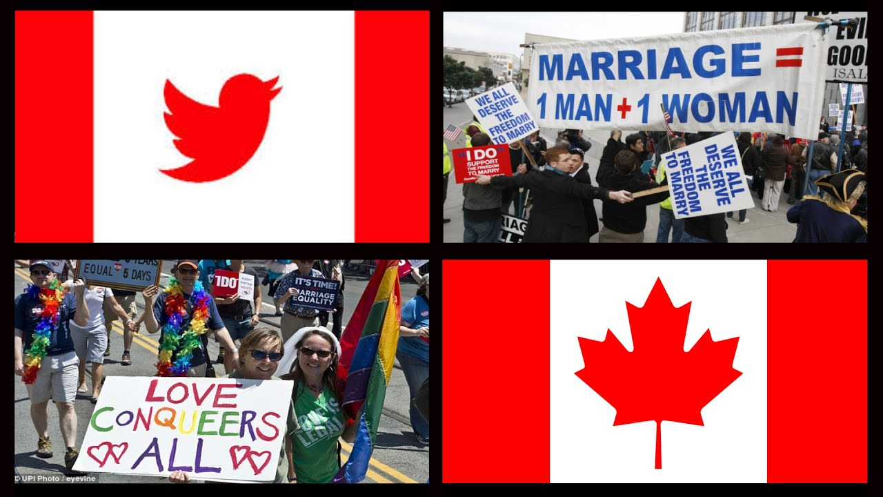Marriage homosexual canada