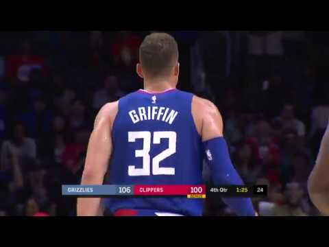 LA Clippers vs Memphis Grizzlies Full Game Highlights - 11/4/17