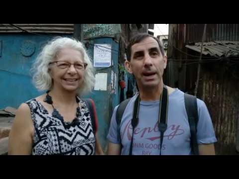 Gary from Australia exploring the Slum's of Dharavi