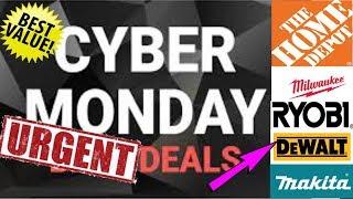 Home Depot Cyber Monday Deals!!!