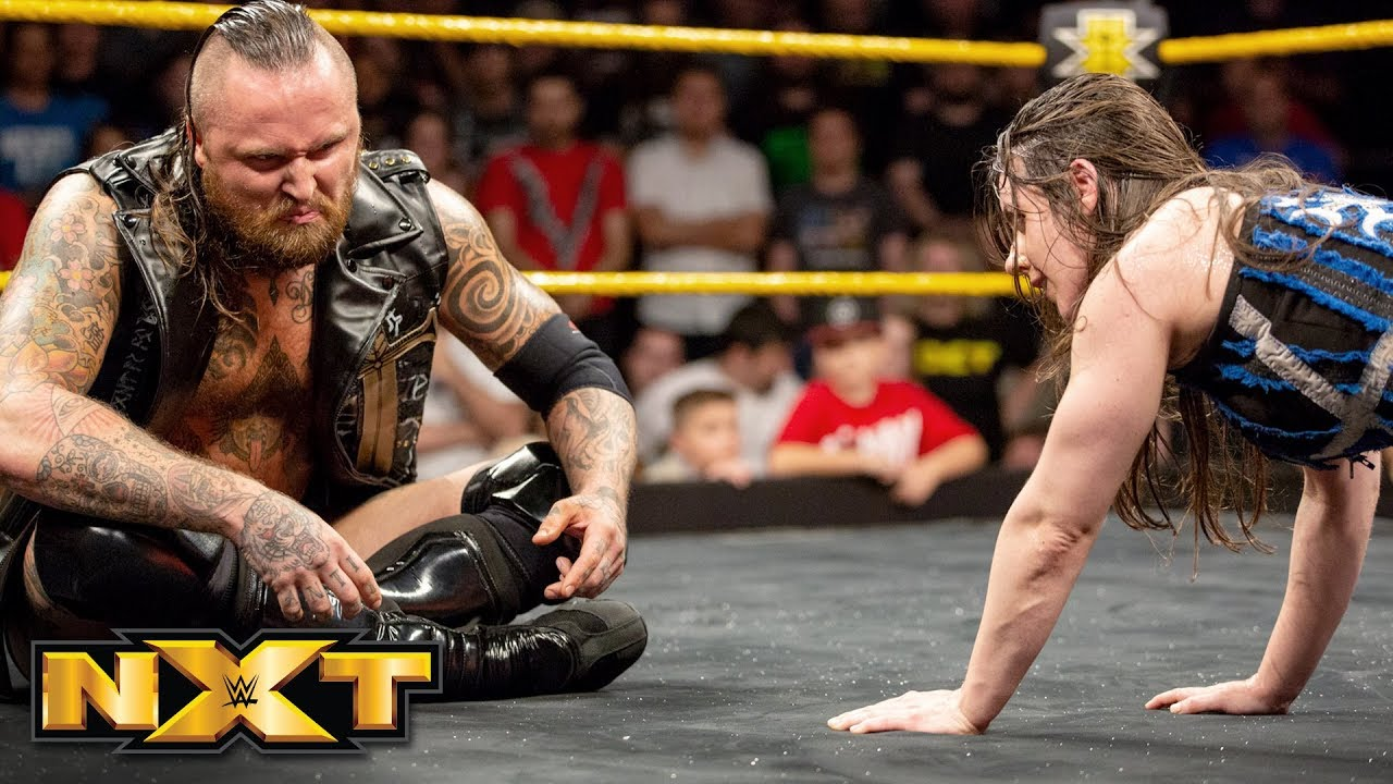 Image result for Aleister Black makes shocking return during Nikki Cross vs. Bianca Belair: WWE NXT, Oct. 17, 2018