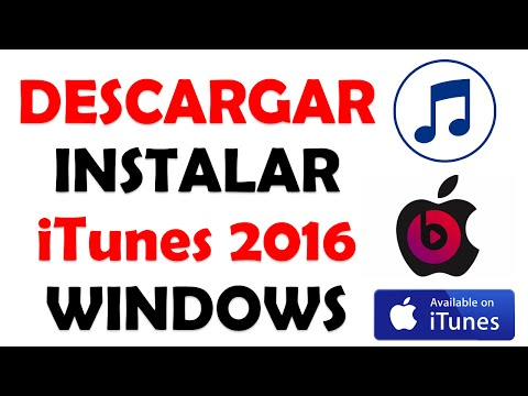 Descargar e Instalar iTunes 12.3.2  para Windows 7 8 8.110  Ultima version 2016