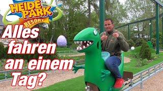 """Vlog #164 Alles im """"Heide Park"""" an einem Tag fahren?"""