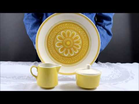 Royal China Company Casablanca Pattern Serving Pieces
