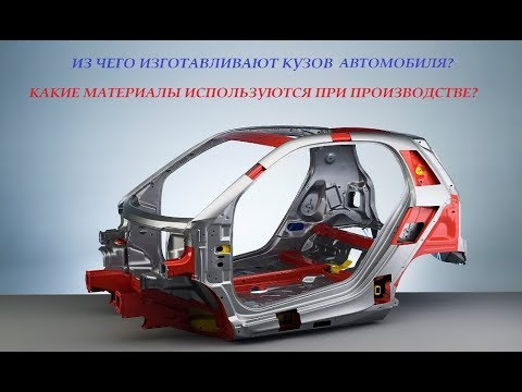 Из чего изготавливают кузов автомобиля. Какие материалы используются при производстве