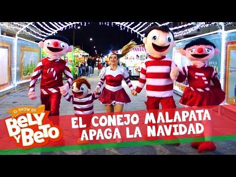 El Conejo Malapata Apaga la Navidad - El Show de Bely y Beto