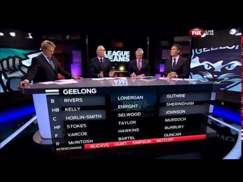 2014.04.24 - League teams - Port Adelaide v Geelong