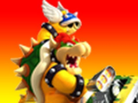 Mario Kart Wii - Bowser Castle 3 Shortcut Tutorial with TWD98