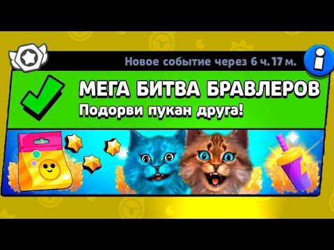МЕГА БИТВА БРАВЛ СТАРС! НОВЫЙ МИНИ РЕЖИМ В BRAWL STARS Весёлый Кот и КОТЁНОК ЛАЙК