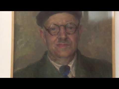А.ЮМАШЕВ. ПОРТРЕТ П.КОНЧАЛОВСКОГО. Артефакты в коллекции Музея