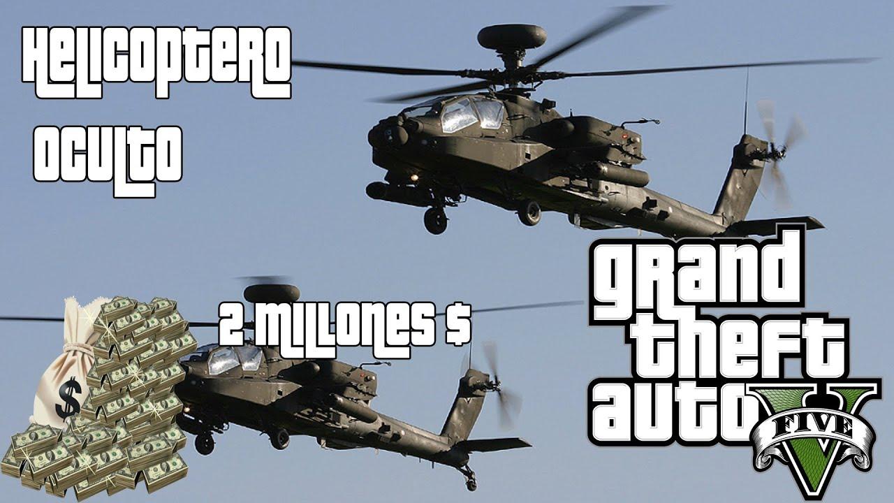 GTA 5 - Helicoptero militar gratis / Free Buzzard Location ...