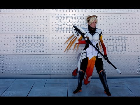 Mercy's staff from Overwatch (build)