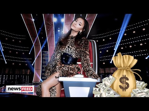 Ariana Grande's MASSIVE Paycheck Makes 'The Voice' History!