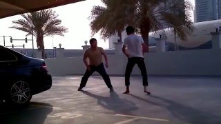 Chechen fighting with the Chinese in Dubai 720 mp4