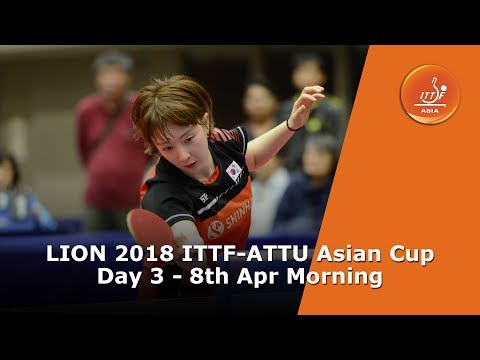 ITTF Asian Cup: Day 3...