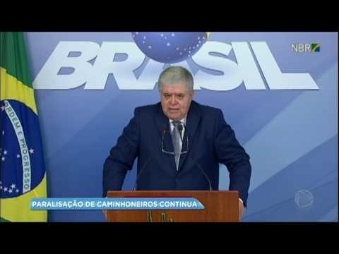 Ministro Carlos Marun anuncia medidas do governo para o fim da paralisação