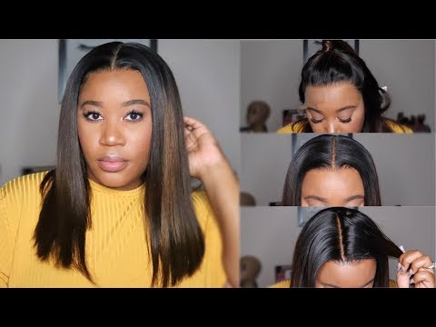 Beginner Friendly I This Looks So Natural! Ombre Bob Lace Front Wig |Royalme Bob