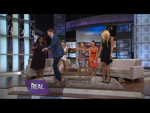 Tyler Ritter Takes a Stroll in Tamar's Heels