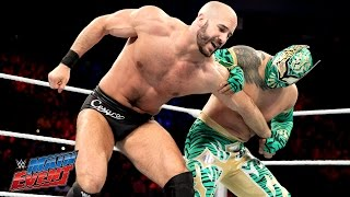 Sin Cara vs. Cesaro: WWE Main Event, February 14, 2015