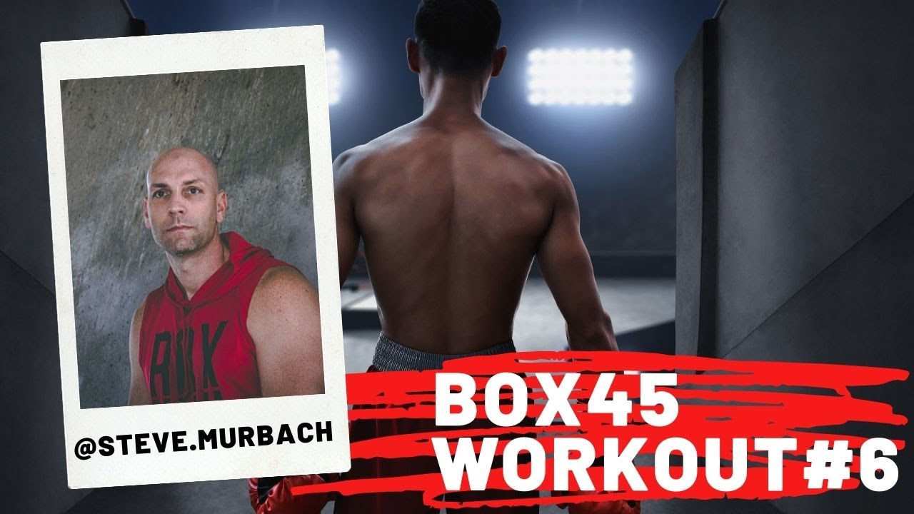 HIGH CALORIE BURNING CARDIO SMASH BOXING 45-MINUTE AT HOME ...