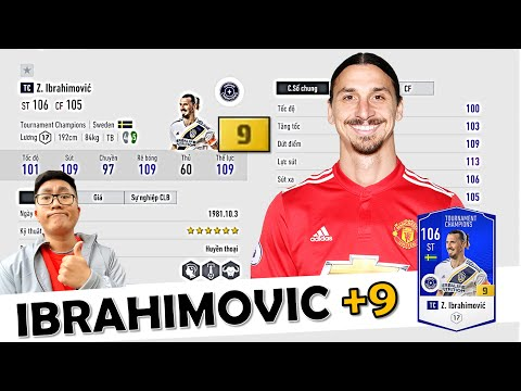I Love TRẢI NGHIỆM HÀNG KHỦNG Zlatan Ibrahimović +9 Độc Nhất Nhì SERVER Với Cú NÃ ĐẠI BÁC Cực Mạnh