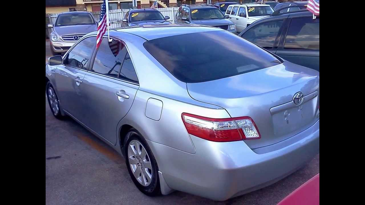 2007 Toyota Camry Hybrid Low Miles Great Gas Mileage Outstanding Value