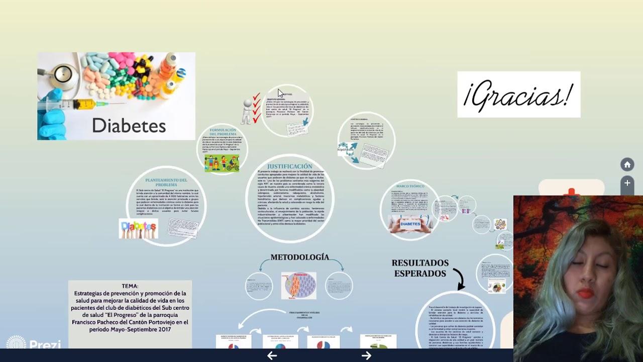 estrategias de promoción de la salud diabetes
