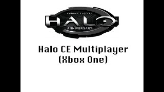 Halo CE CTF:Master Chief Collection: (Xbox One)