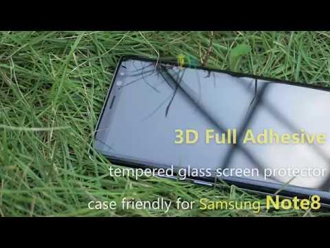 [全膠貼合] 三星Note 9 全屏曲面鋼化玻璃膜 三星 note 9 玻璃保護貼 全屏貼合無網點