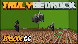Raid Farm Is Working & Iron Sorter! - Truly Bedrock (Minecraft Survival Let's Play) Episode 66