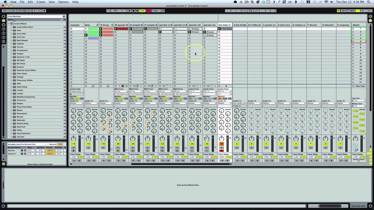 how to cut a song in ableton
