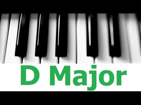 D Major Scale & Chords - Android Piano Tutorial #3